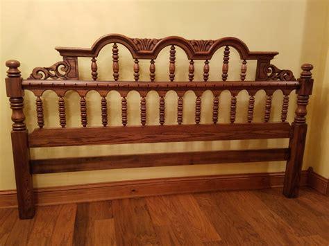 link taylor oak bedroom set  antique furniture collection