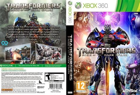 Sale Xbox One Transformers Rise Of The Spark With Exclusive Dlc transformers rise of the spark xbox 360 box