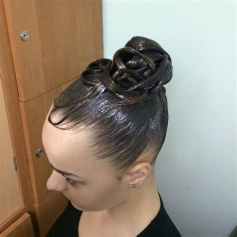 ballroom hair styles with bangs 30 best ballroom dance hair images on pinterest ballroom