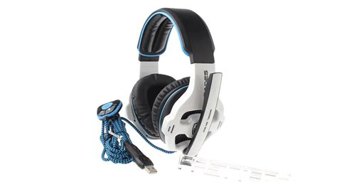 Murah Earcup Sades 903 Blue 38 86 authentic sades sa903 usb wired gaming headphones w microphone white black blue at