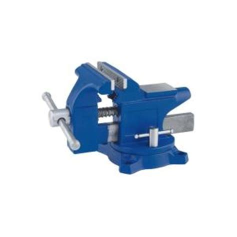 irwin 4 1 2 in light duty workshop vise 4935507 the