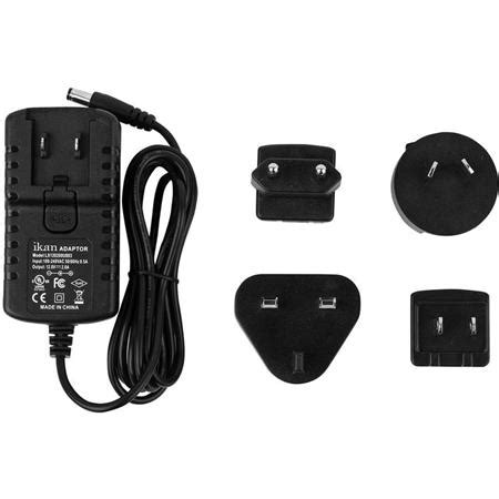 Adaptor Ikan ikan 12v 2a ac dc universal adapter for on monitors small led lights
