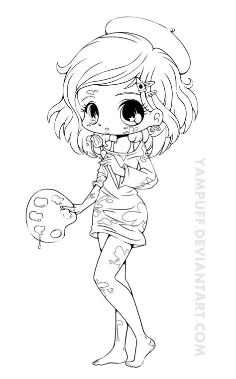 chibi animals coloring books for adults and a and animal coloring book a coloring book with simple and adorable animal drawings childrens coloring books books artist chibi lineart by yuff on deviantart