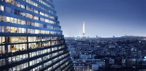 designboom paris paris approves herzog de meuron s 180 meter triangle tower