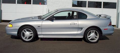 94 mustang gt horsepower opal silver 1994 ford mustang gt coupe