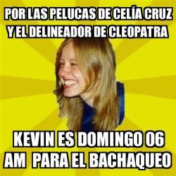 Celia Cruz Meme - meme trologirl por las pelucas de cel 237 a cruz y el