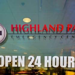 highland park emergency room highland park emergency center centers dallas tx yelp