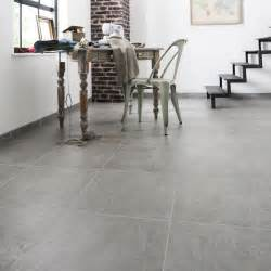 carrelage sol gris effet b 233 ton alma l 45 x l 45 cm leroy