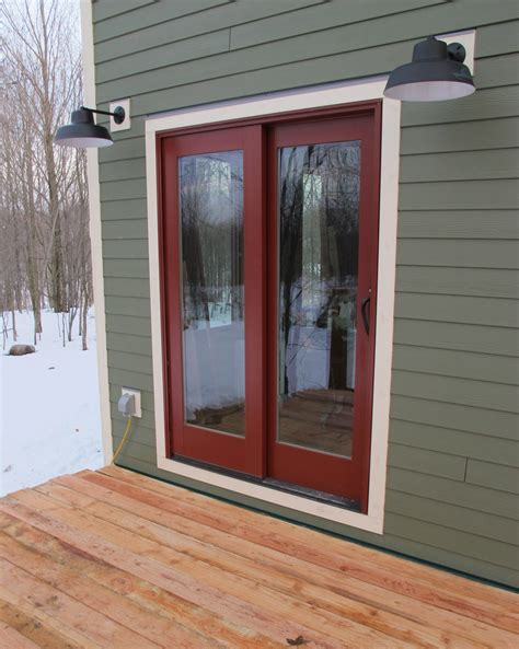 Weatherproof Exterior Door Porcelain Lighting Warehouse Shades For Green Built Home Barnlightelectric