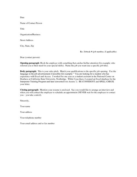 cover letter exles download the best letter sle