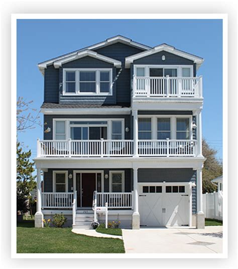 3 story house w t hannan builders brigantine new homes