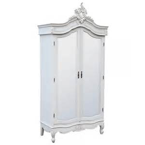 antique white mirrored armoire wardrobe free delivery coco54
