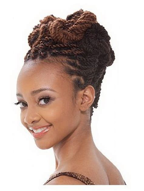 updos using marley hair marley braids hairstyles