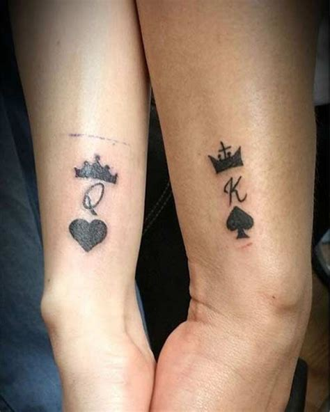 queen of spades tattoo meaning 51 king and tattoos for couples design