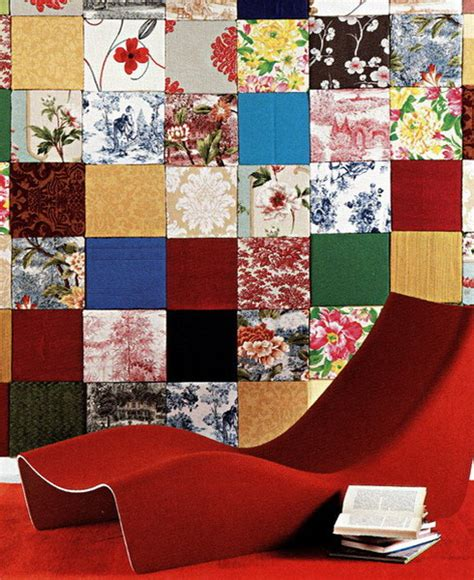 Patchwork Decorations - 35 cool ideas to decorate your home with patchwork walls