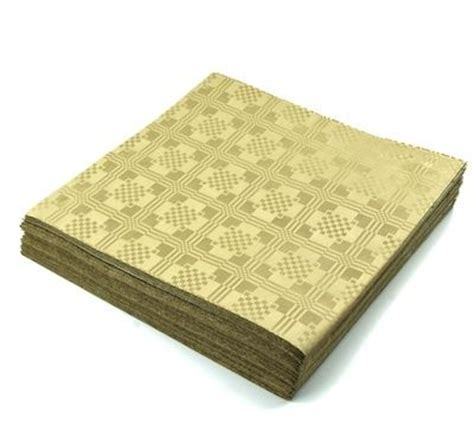 Dimention Silver White Combi Gold 25 gold metallic tablecovers