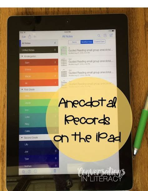 templates for notability 25 best ideas about anecdotal notes on pinterest