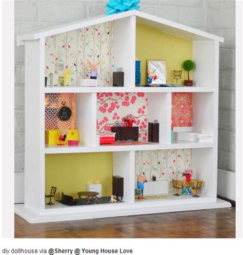 Simple Dollhouse Kids Pinterest Dollhouses