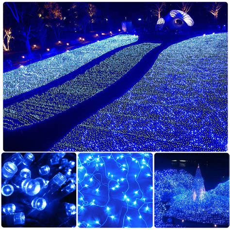 10m 20m 100m 200m outdoor party christmas led string fairy