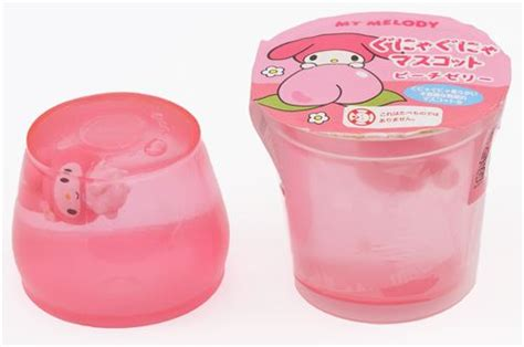 Squishy Hello Pudding pink my melody rabbit jelly squishy kawaii food squishy