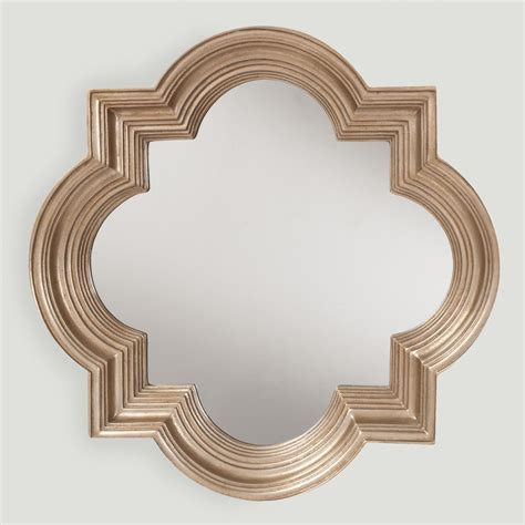 Frame Steel Gold 3 platinum gold metal frame mirror world market