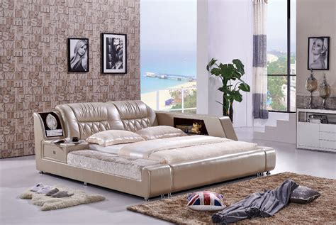 large style beds the modern designer leather soft bed large