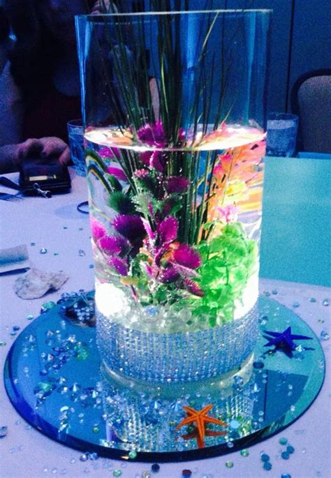 sweet 16 flower centerpieces the mermaid sweet 15 theme search sweet