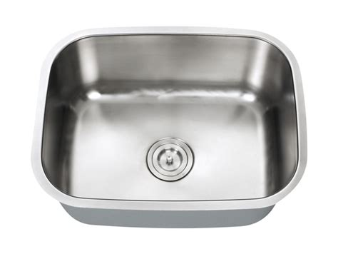 indus small single bowl kitchen sink 18