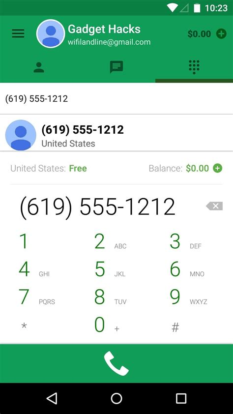 calling app for android free calling app for android without wifi dollar digits
