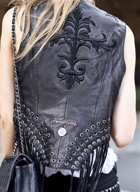 fall motorcycle jacket biker clothing women women s leather clothing wearing a