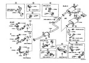 Toyota Exhaust System Diagram 1996 Toyota Tercel Engine Diagram 1996 Get Free Image