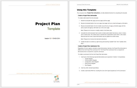 ms project plan templates free project plan templates 18 free sle templates