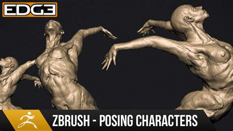 zbrush posing tutorial how to pose characters in zbrush tutorial hd youtube