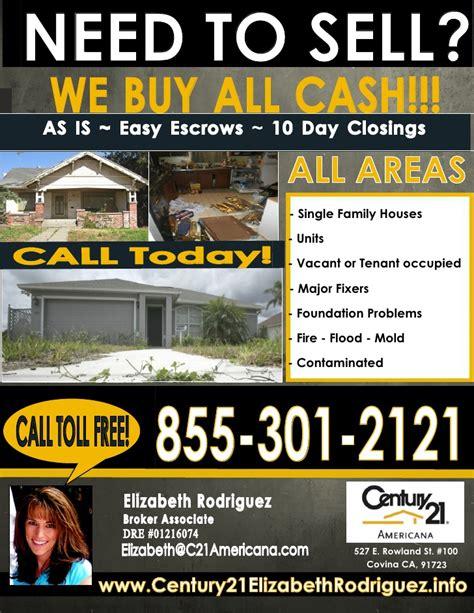 We Buy Properties All Cash We Buy Houses Postcard Template