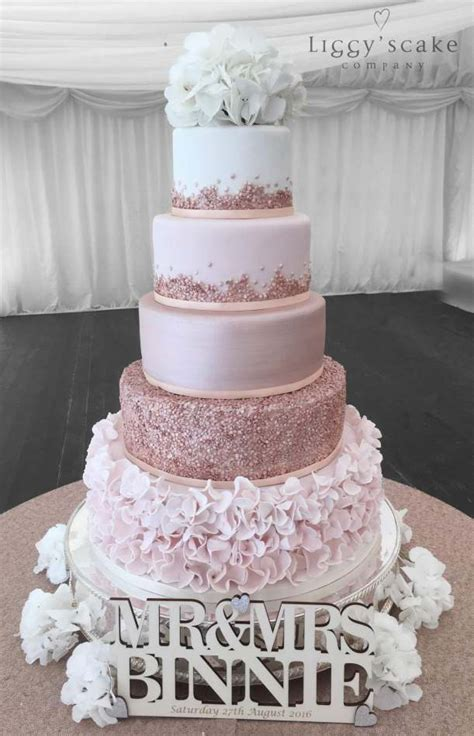 Wedding Cakes Roses by Gold Carlowrie Cake Wedding Cakes