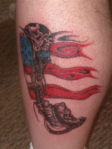 oif tattoo designs soldier memorial fallen soldier memorial my