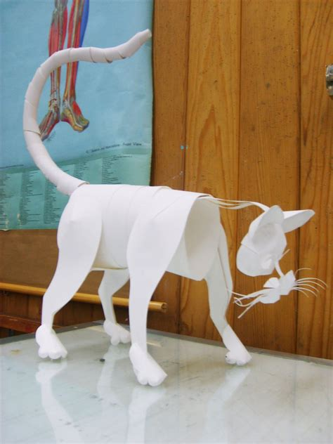 Paper Craft Animals - papercraft animal by swordtosoul on deviantart