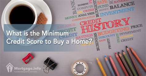 2017 what is the minimum credit score to buy a home