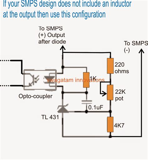 variable resistor output how to make a variable smps driver circuit electronic circuit projects