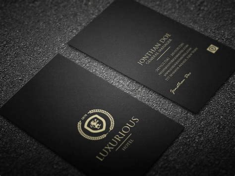26 Beautiful Luxury Business Card Free Premium Templates Luxury Business Card Template