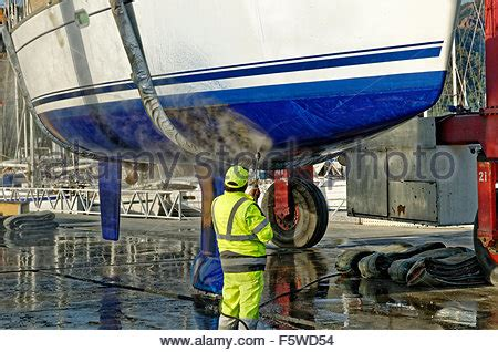 boat jet wash boat hull cleaning water pressure washer barnacles