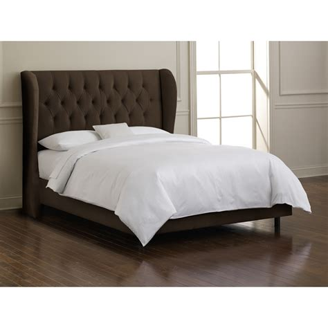 tuffeted headboard skyline furniture tufted wingback headboard atg stores