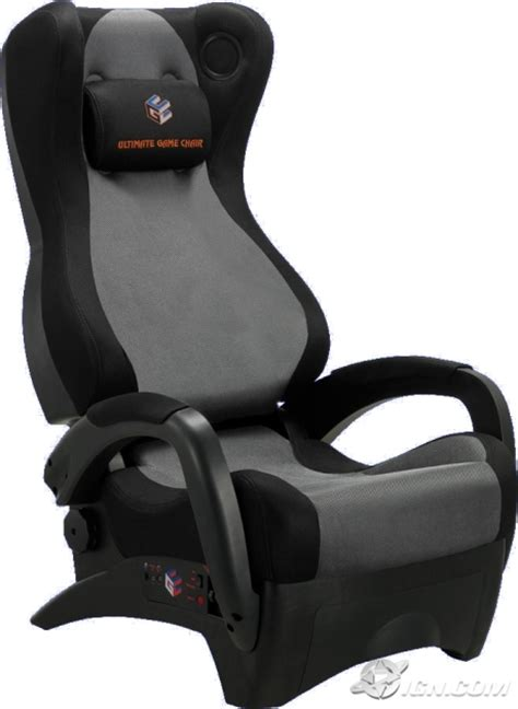 Gamming Chair by Ultimate Chair Renegade Review Ign