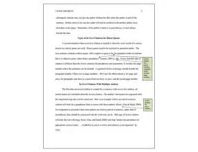 Apa Format Essays by Apa 6th Edition Exle Research Paper