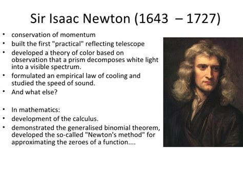 sir isaac newton biography mathematician a brief history of mathematics