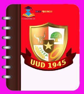 Undang Undang Dasar 1945 Hasil Amandemen Ke 4 sejarah lahirnya uud 1945 negara republik indonesia