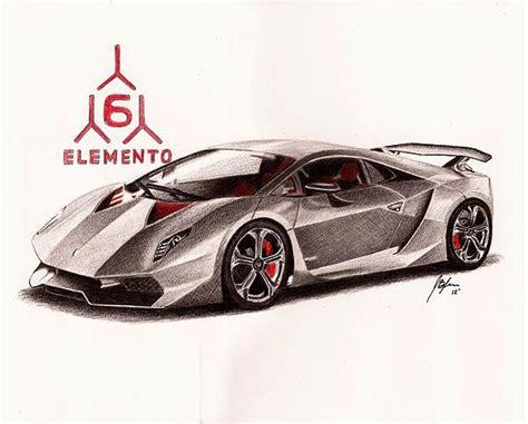 How To Draw Lamborghini Sesto Elemento Colored Pencil Drawing Of A Lamborghini Sesto Elemento