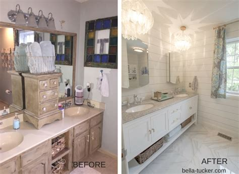 before and after bathroom remodels pictures bathroom remodeling on a budget bella tucker decorative