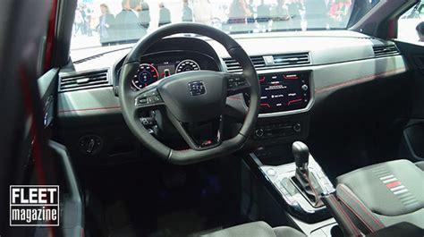 interni seat seat arona il b suv al salone di francoforte foto e