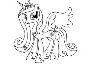free coloring pages luna pony